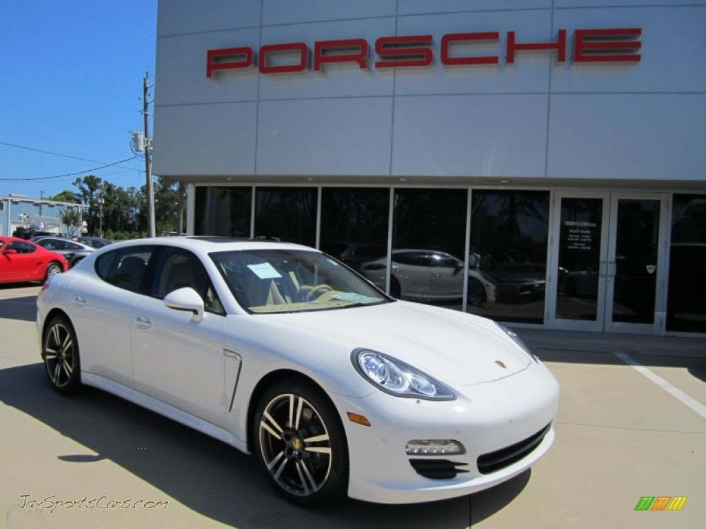 2012 Porsche Panamera V6 In Carrara White 070789 Jax
