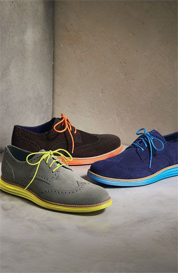 Cole Haan 'LunarGrand' Wingtip (Men)p--Love these:)