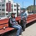 Roaring Camp train in Santa Cruz at Boardwalk