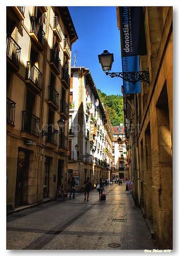 Rua de San Sebastian by VRfoto
