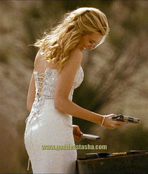My dream wedding dress (back view) worn by Maggie Grace in