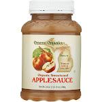 Omena Organics Apple Sauce - Organic - Sweetned - 24 Oz - Case Of 12