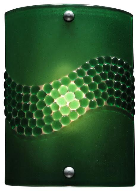 Meyda Tiffany Custom 108795 Twigs Fused Glass Wall Sconce