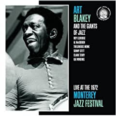 Live at the Monterey Jazz Festival 1972  cover