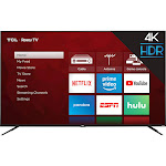 "TCL - 75"" Class - LED - 4 Series - 2160p - Smart - 4K UHD TV with HDR - Roku TV"