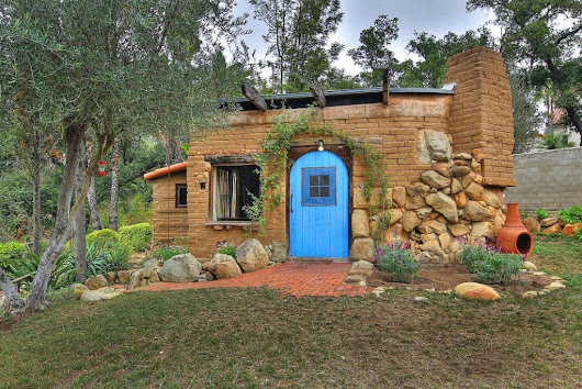 Small Adobe Brick House | Small House Swoon