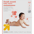 Scented Baby Wipes - 500ct - Up&Up
