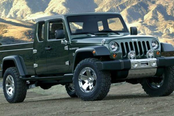 Jeep Wrangler Pickup Truck Gets Serious Consideration | Edmunds.com
