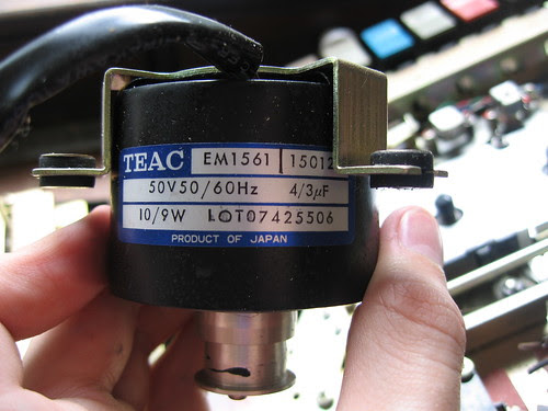 Teac 360S - Motor