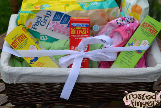 Gifts for First Time Moms - Frosted Fingers | Baking & Reviews | Chicago Mom Blogger