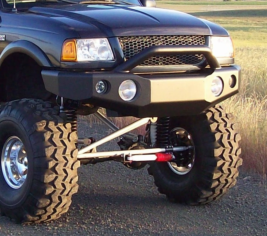 Fearce Offroad Custom Offroad And Winch Bumpers For Ford Ranger
