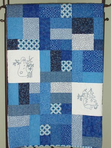 2 quilt stand close up