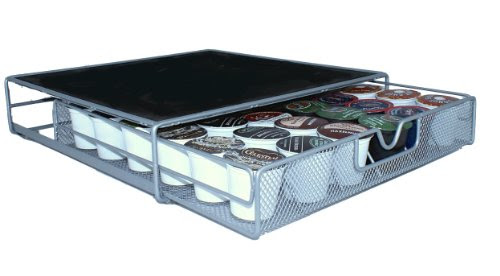Buy DecoBros Coffee Storage Drawer Holder for K-cup Pods (Mesh Wire) Big Discount