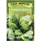 High Mowing Organic Seeds Organic Renegade Spinach Seeds 1 Packet