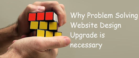 Time for problem solving website design upgrade for your business website