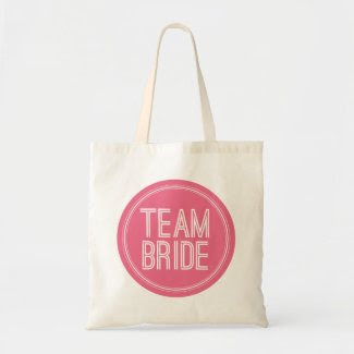 Team Bride - Wedding Tote Bag