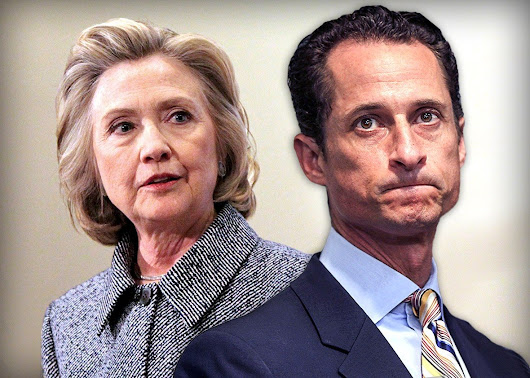 NYPD Turns Against the FBI: Seized Laptop Shows Hillary Clinton Covered Up Weiner's Alleged Sex Crimes With 15 yr old During Election
