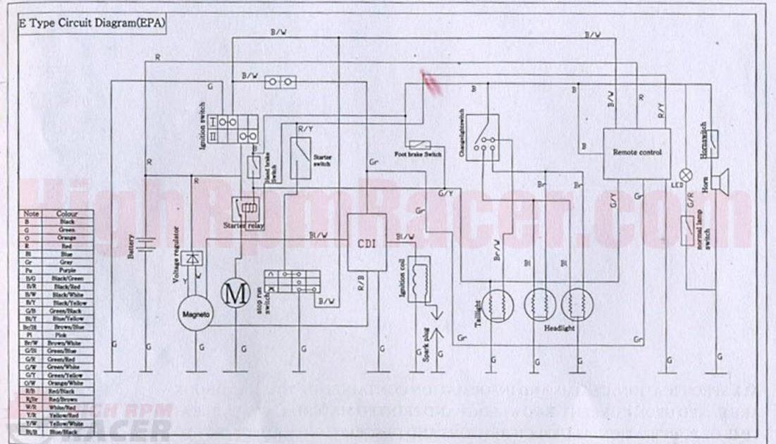 110 Atv Wiring Diagram