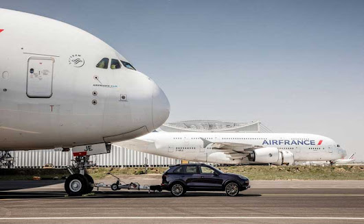 Porsche Cayenne Pulls Airbus A380 To Set New Guinness World Record