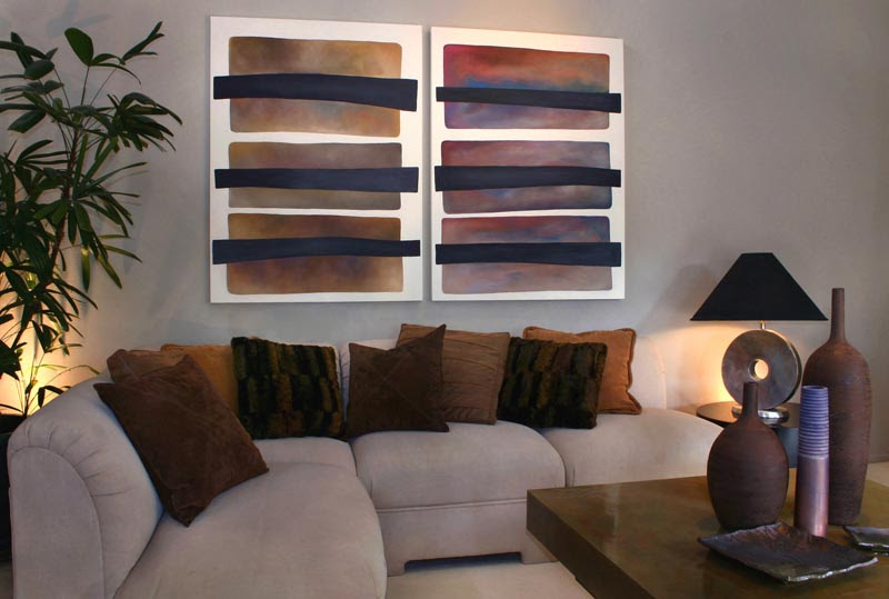 Selecting Abstract Art for Modern Interiors - Modern Art