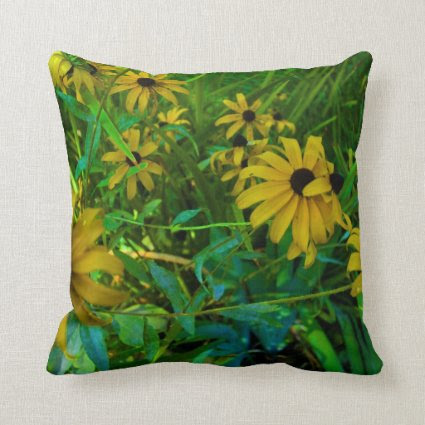 Black-Eyed Susans Pillow