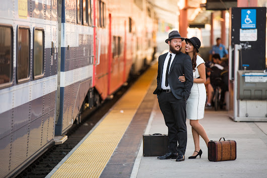 Union Station Engagement - Christina + Nick