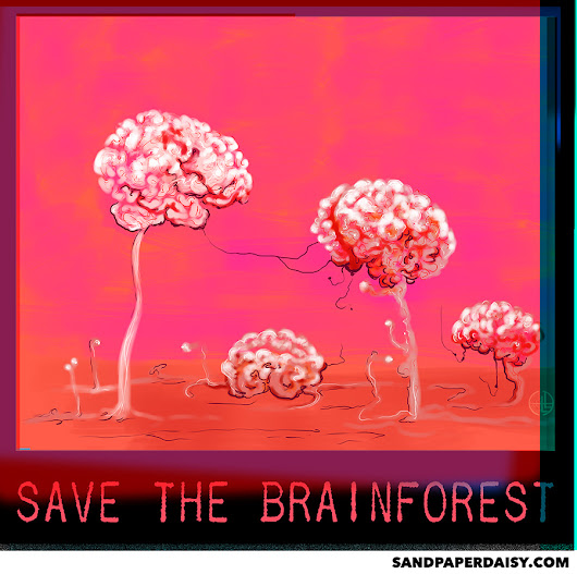 SAVE THE BRAINFOREST: New Shirt