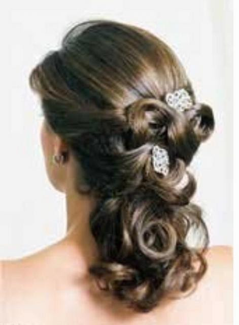 Wedding Hairstyles Half Updo 26 7 25 21 Photo Of Curly