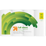 Full Sheet Paper Towels - 12 Giant Plus Rolls - Up&Up , Size: 12 Giant Rolls
