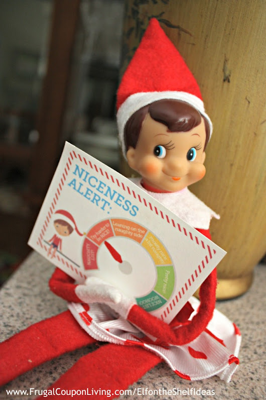 Elf on the Shelf Ideas Week | Day 6