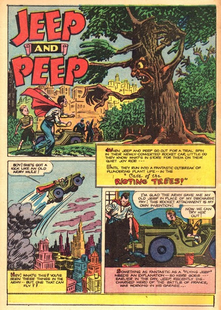 Jeep and Peep Case of the Rioting Trees