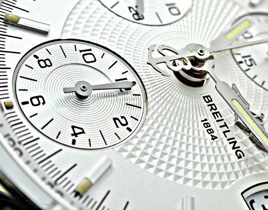 Foto 4, Breitling Chronomat Stahl Chronograph Topuhr Neuzustand, U1879