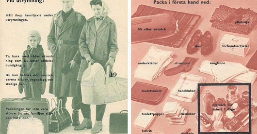 Sweden Reissues Cold War Pamphlet Telling People How To Prepare For Outbreak Of War