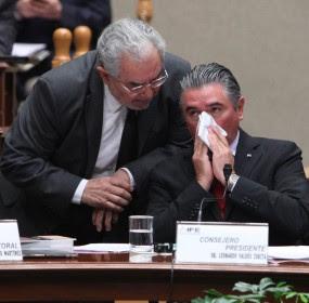 Sergio García Ramírez y Leonardo Valdés. Complicidades Foto: Benjamin Flores