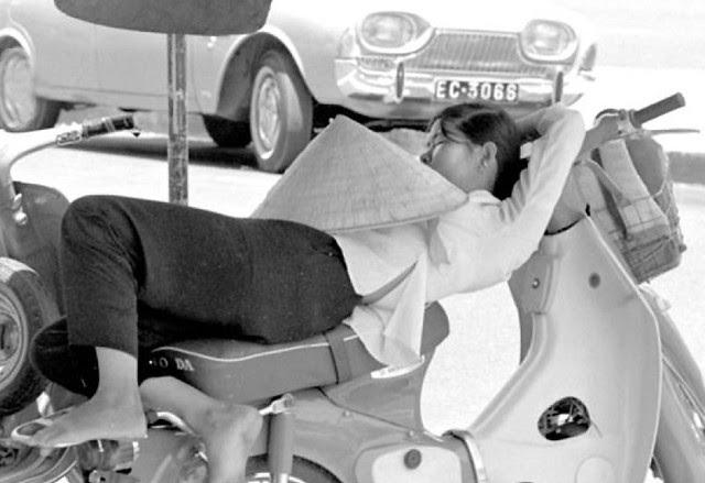 Siesta time in Saigon, 1970