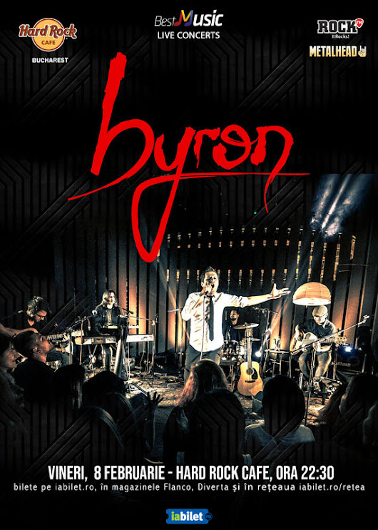 Concert byron in Hard Rock Cafe (8 februarie) - Psihologul muzical