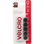 VELCRO Brand Sticky Back - Self-adhesive hook-and-loop fastener - 0.59 in diameter - black (pack of 15)