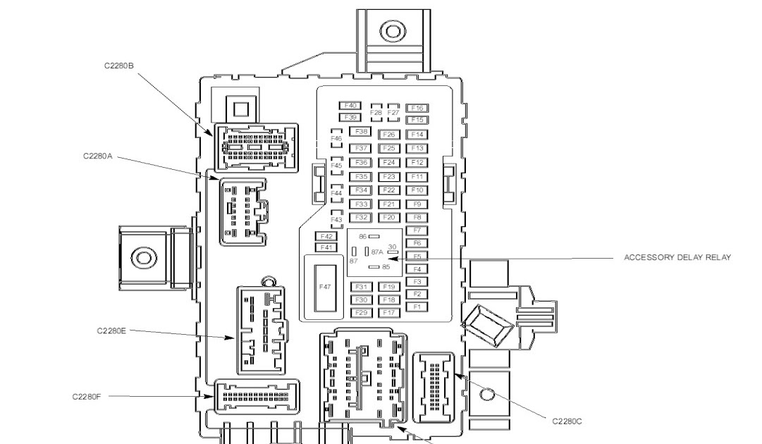 2007 Ford Fusion Wiring Diagram