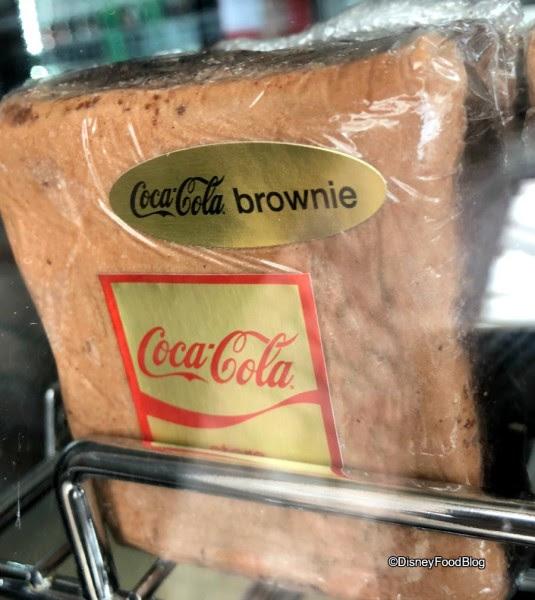 Coca Cola Brownie