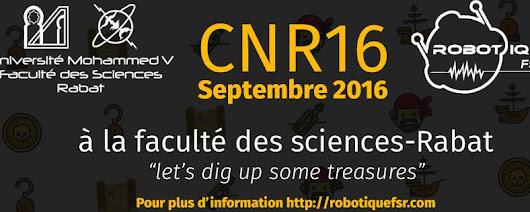 Compétition Nationale De Robotique 2016 Rabat