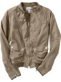 Old Navy Womens Lightweight Moto Jackets