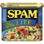 Spam Lunch Meat, Lite - 12 oz can