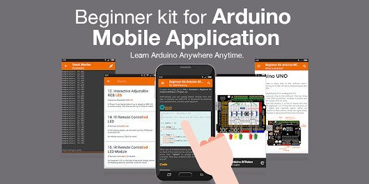 Beginner Kit for Arduino Mobile Application is now available on Google Play!