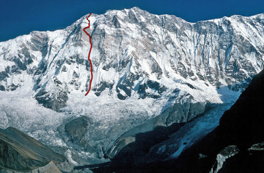 Ueli Steck's Annapurna South Face Solo - Alpinist.com