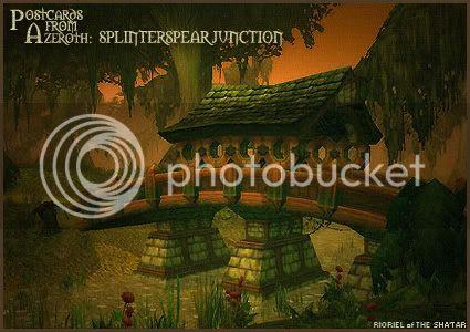 Postcards of Azeroth: Splinterspear Junction