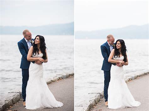 Capilano Suspension Bridge wedding: Flor and Craig by