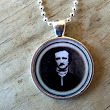 Edgar Allan Poe Unisex Resin Pendant Necklace