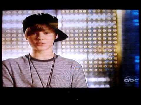 Justin Bieber shirtless and
