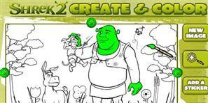 Shrek Boyama Minika Oyun