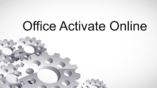 Office activate online